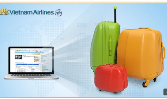 Mua thêm hành lý Vietnam Airlines như thế nào
