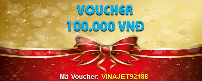 VINAJET.vn tặng Voucher 100K cho 50 khách hàng đầu tiên chỉ trong hôm nay!