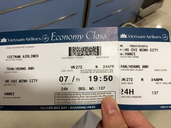 Đặt vé máy bay Vietnam Airlines trực tuyến nhanh nhất