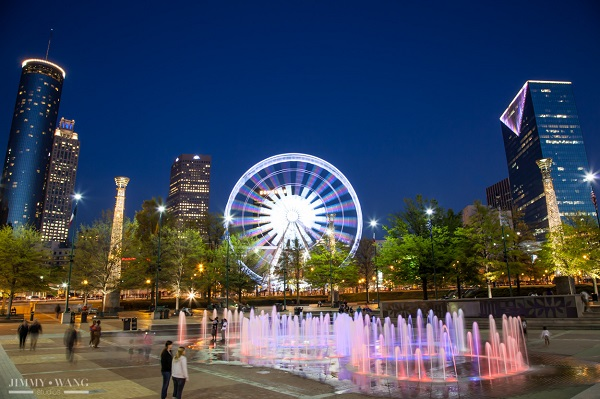 Đặt vé máy bay đi Atlanta khám phá Centennial Olympic Park