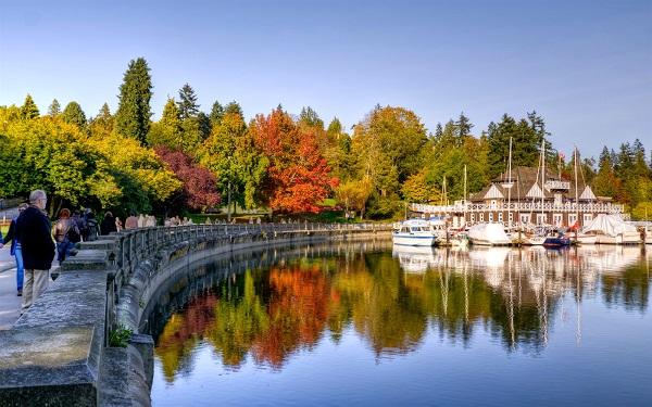 Đặt vé máy bay đi Vancouver khám phá công viênStanley
