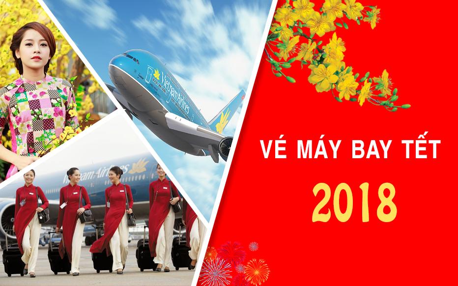 Cùng Vinajet Travel săn vé máy bay TẾT 2018 giá rẻ