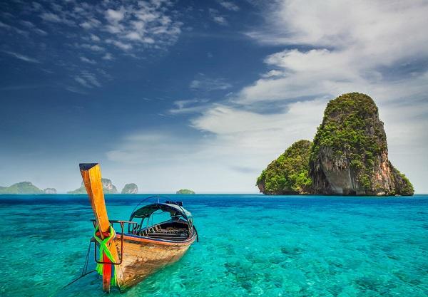 Đặt vé máy bay giá rẻ đi Thái Lan khám phá Railay