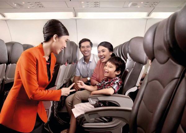 Dịch vụ chuyến bay của hãng hàng không Jetstar Pacific