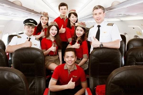 Dịch vụ rất Thân Thiện của hãng hàng không Vietjet Air