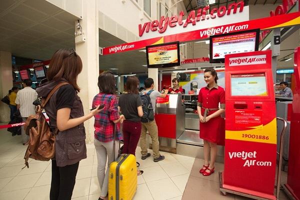 Check-in trực tuyến của Vietjet Air
