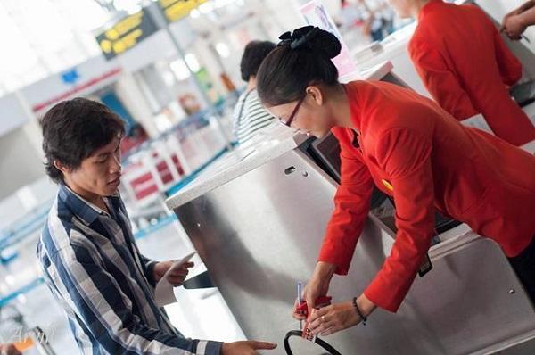 Quy định nhận hành lý Jetstar