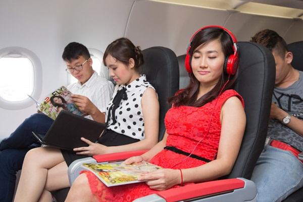 Trải nghiệm dịch vụ bay của Vietjet Air