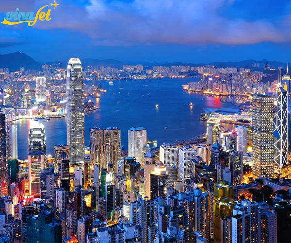 Vi vu đến Hong Kong thơ mộng