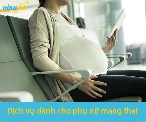 Hỗ trợ hành khách là phụ nữ mang thai