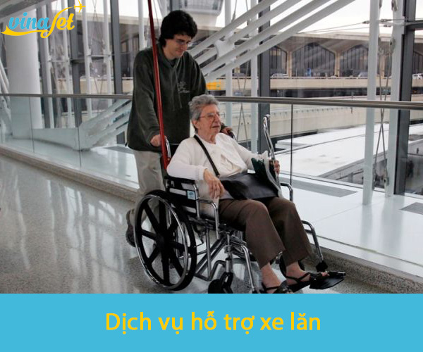 Dịch vụ hỗ trợ xe lăn tại Singapore Airlines