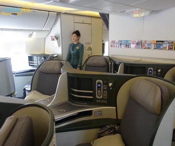 Các hạng vé của Eva Air