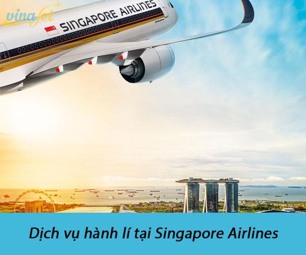 Dịch vụ hành lí của Singapore Airlines