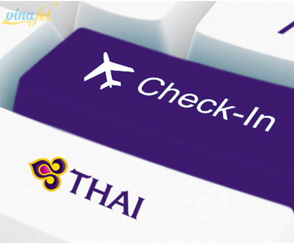 Thủ tục check in Thai Airways