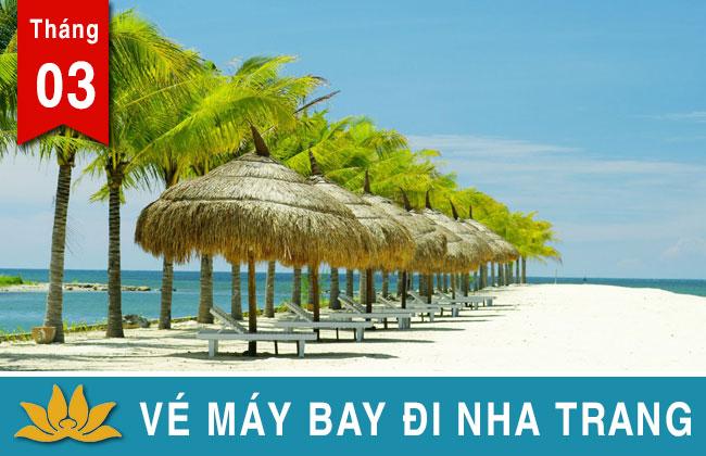 Vé máy bay đi Nha Trang Vietjet, Jetstar, Vietnam Airlines giá rẻ 99K