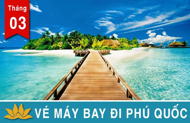 Vé máy bay đi Phú Quốc Vietjet, Jetstar, Vietnam Airlines giá rẻ 99K