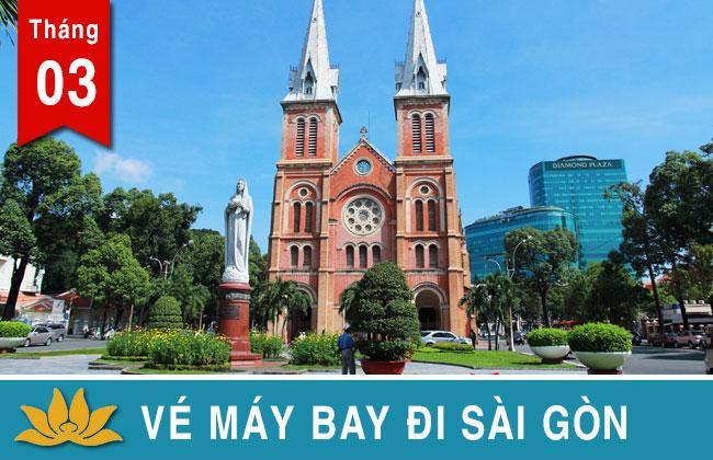 Vé máy bay đi Sài Gòn Vietjet, Jetstar, Vietnam Airlines giá rẻ 399K