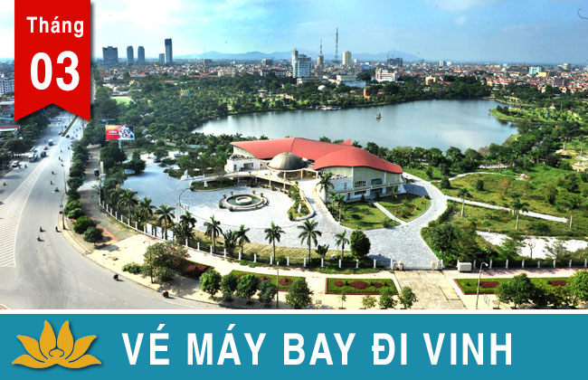 Vé máy bay đi Vinh Vietjet, Jetstar, Vietnam Airlines giá rẻ 399K