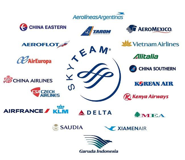 Liên minh Skyteam - Vietnam Airlines
