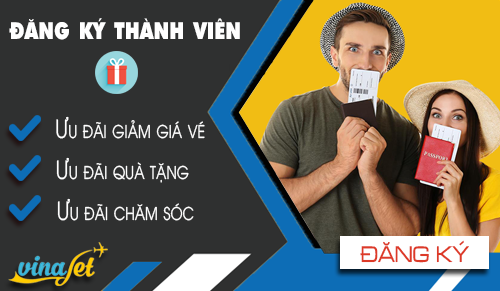 Đăng kí khách hàng thân thiết Vietnam Airlines và VINAJET