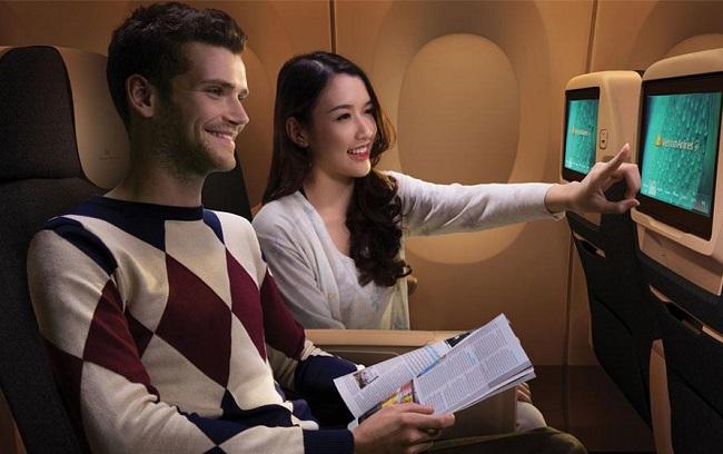 Thỏa thích giải trí trên chuyến bay Vietnam Airlines