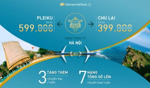 Khuyến mãi đi Quốc Nội Vietnam Airlines