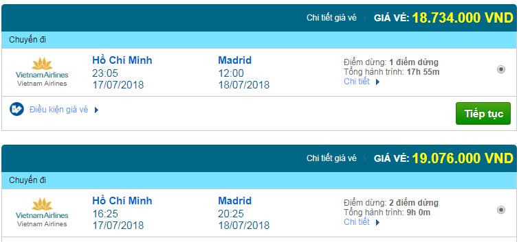 Giá vé máy bay Sài Gòn đi Madrid, Tây Ban Nha 02
