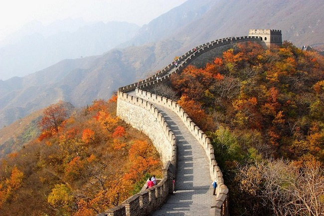 Đặt vé máy bay đi Trung Quốc khám phá Vạn Lý Trường Thành