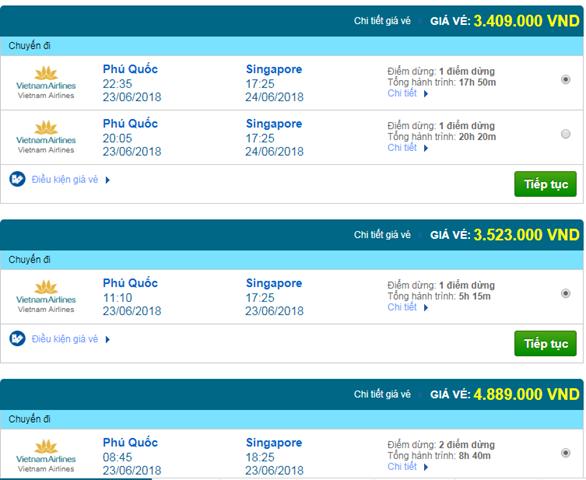 Vé máy bay Đà Nẵng đi Singapore
