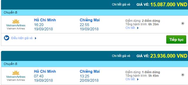 Vé máy bay Vietnam Airlines đi Phuket, Thái Lan
