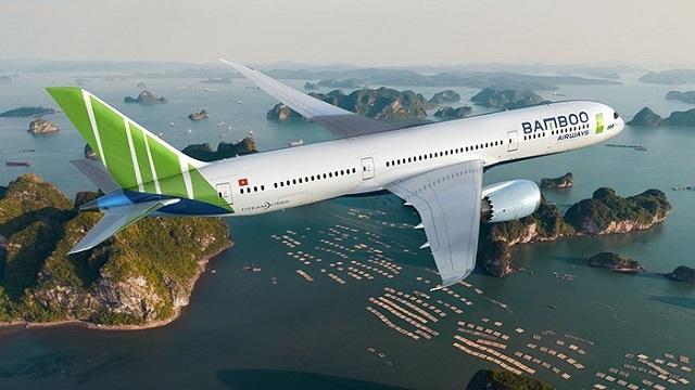 vé máy bay giá rẻ hãng Bamboo Air